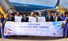 Đón vị khách quốc tế thứ 10 triệu đến Việt Nam tại Phú Quốc